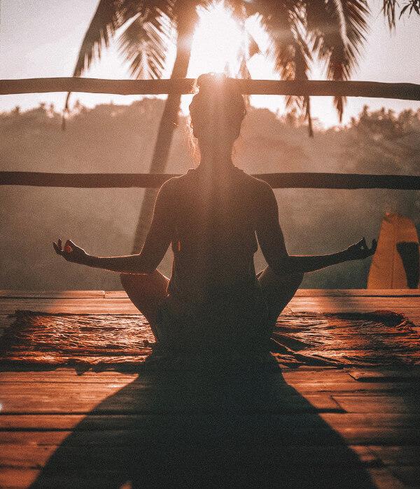 Meditation mit tiefen Atemübungen